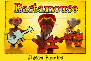 Rastamouse Play Jigsaw Puzzles Icon