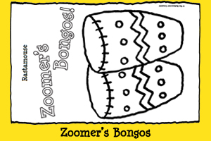 Print-out Zoomer's Bongos