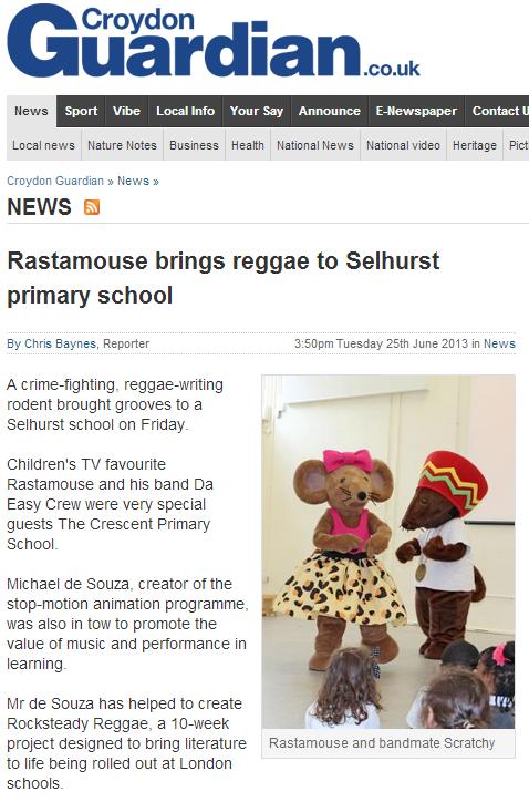 croydon reggae school