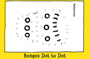 Rastamouse Print-out Activities - Bongos Dot to Dot