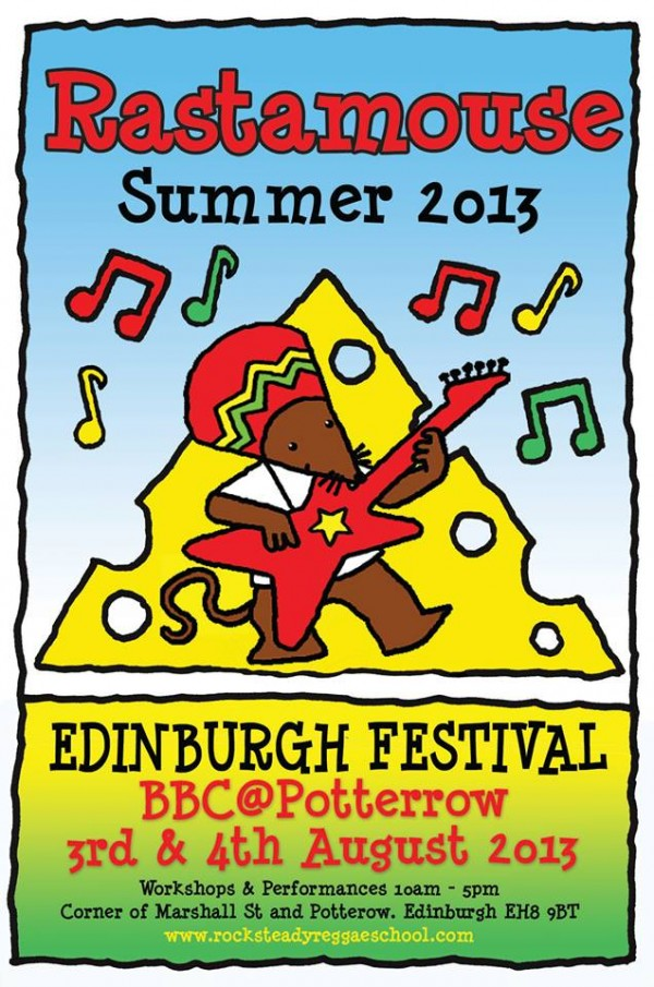Rocksteady Reggae School Edinburgh Festival August 2013