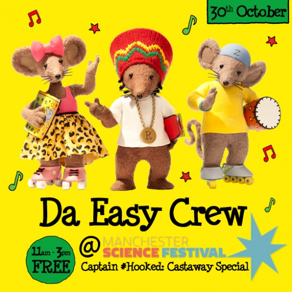 Da Easy Crew Manchester Science Museum Oct. 30th