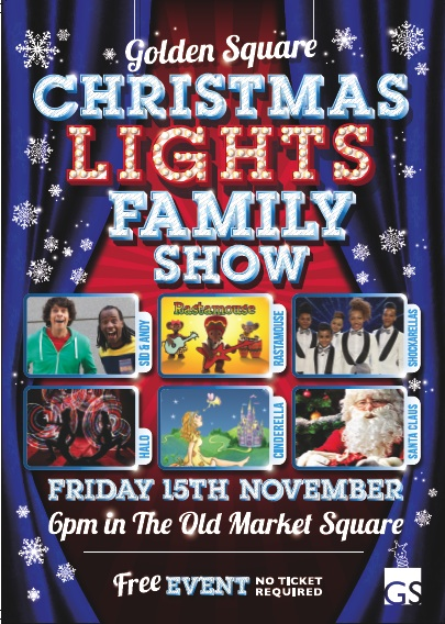 Golden Square Christmas Lights Family Show 2013