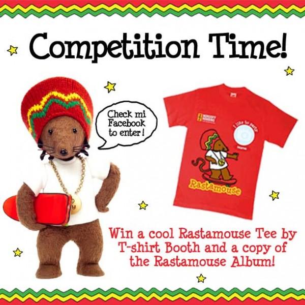 Rastamouse T-Shirt Competition Promo Image 2