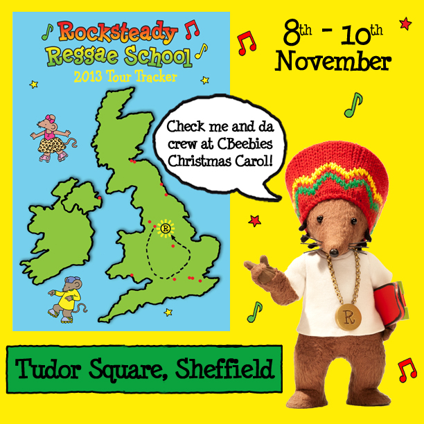 Rastamouse at CBeebies Christmas Carol in Sheffield