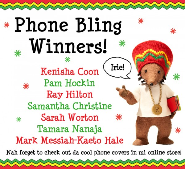 Phone Bling Competition Winners