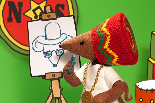 Rastamouse Drawing