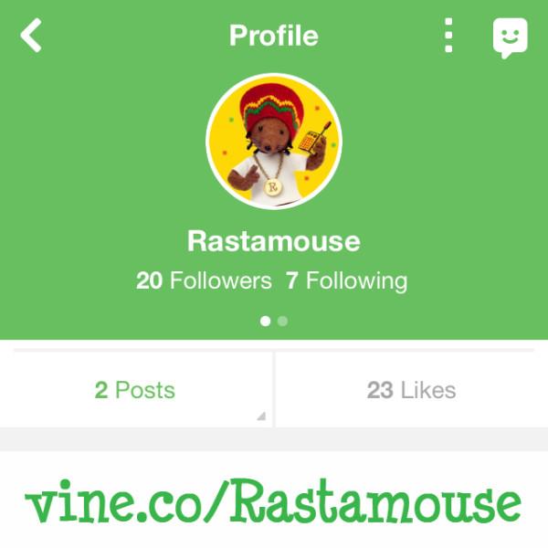 Rastamouse on Vine