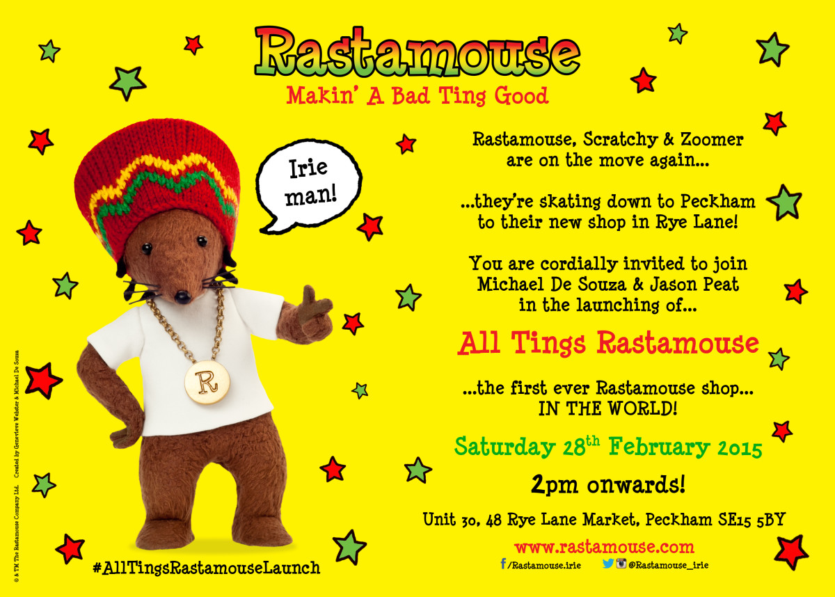 Alltings Rastamouse Invitation