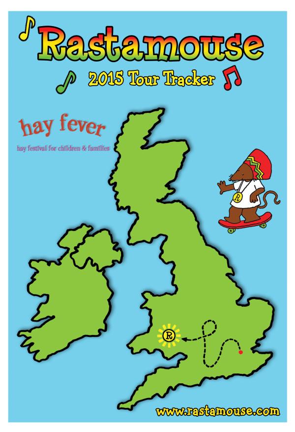 Hay Festival Tour Tracker