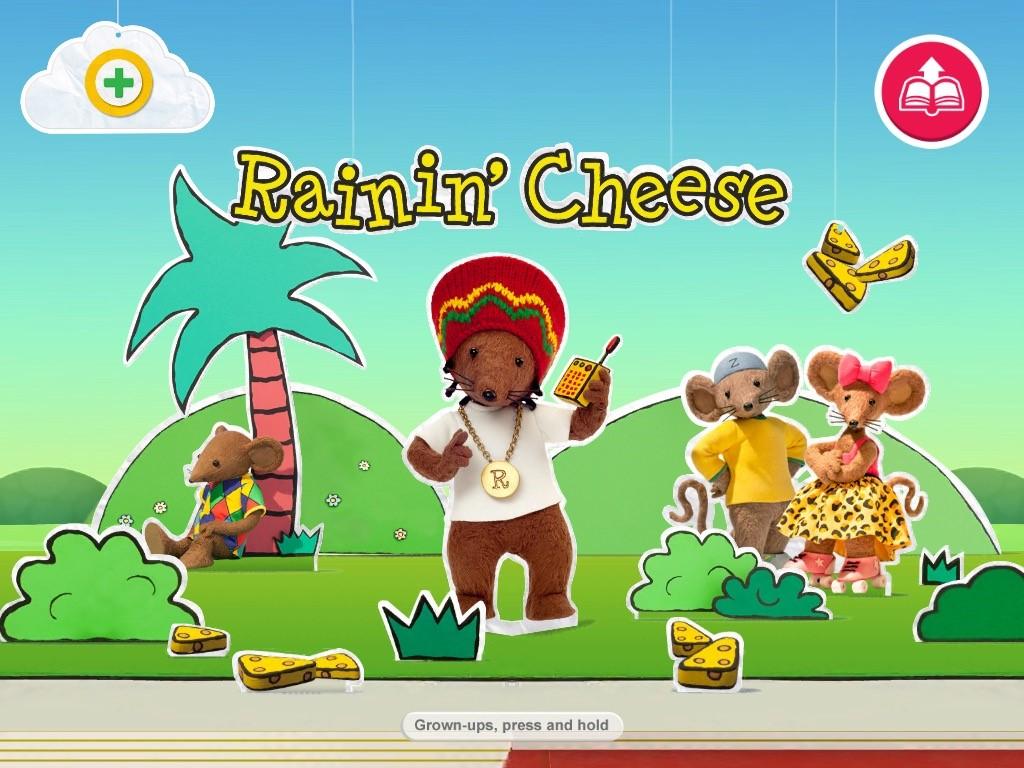 Rastamouse - Rainin Cheese - CBeebies Storytime App