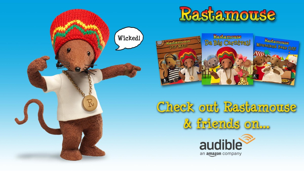 Rastamouse on Audible