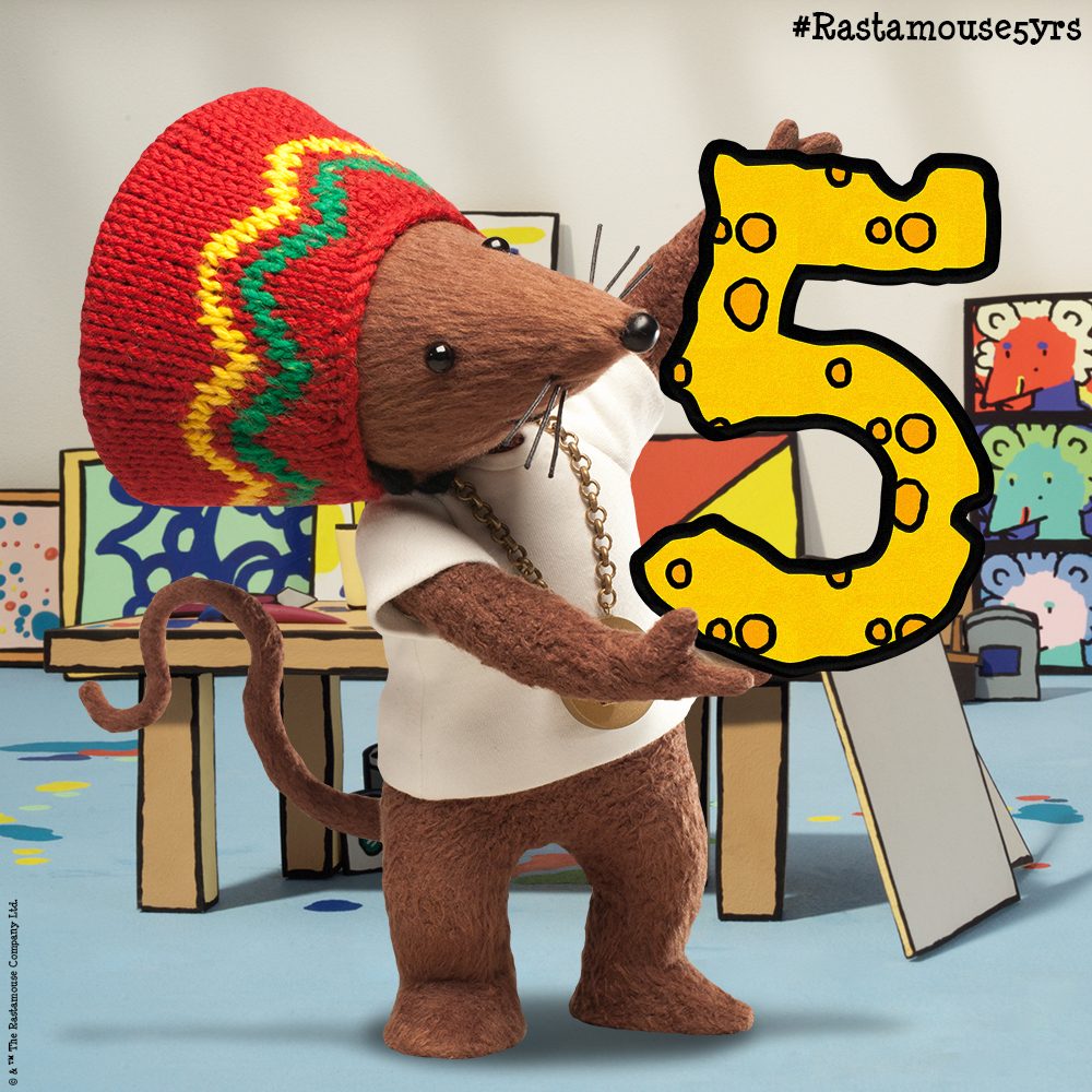 5 Years of Rastamouse