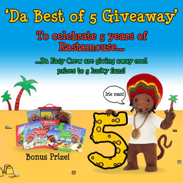 Rastamouse - Da Best of 5 Giveaway (Feb 2016)