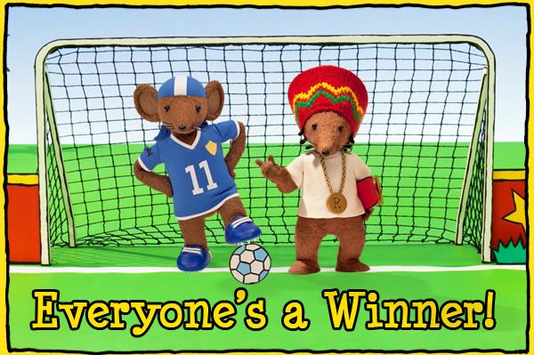 Everyone's A Winner Football Clip