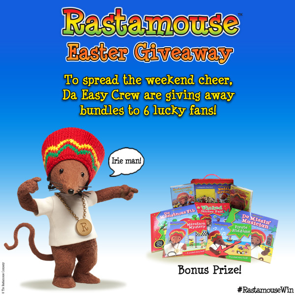 Rastamouse Easter Giveaway Post