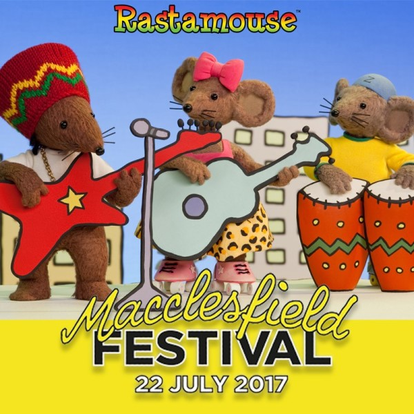 Rastamouse at Macclesfield Festival 2017