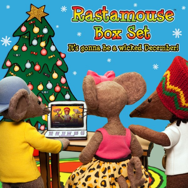 Rastamouse Box Set Wicked December Competition (blue)