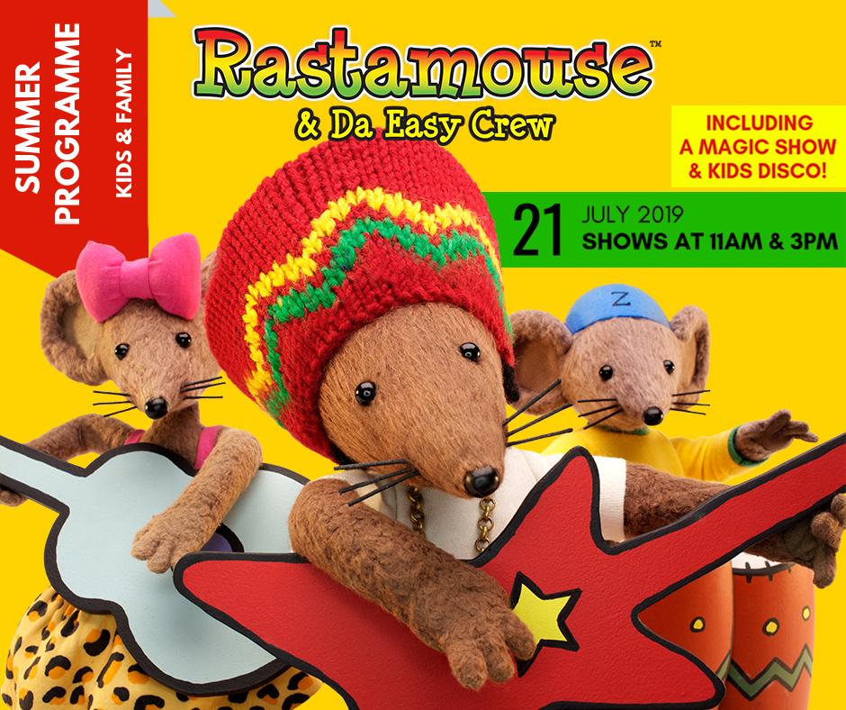 Rastamouse & Da Easy Crew -Sutton Coldfield Townhall 2019
